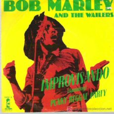 Discos de vinilo: BOB MARLEY AND THE WAILERS - IMPROVISANDO ** JAMMING - PUNKY REGGAE PARTY ** ISLAND ESPAÑA 1977. Lote 16704901