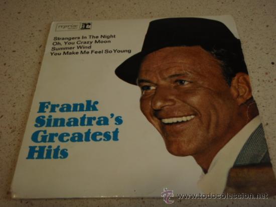 FRANK SINATRA ?– FRANK SINATRA'S GREATEST HITS, GERMANY EP REPRISE (Música - Discos de Vinilo - EPs - Jazz, Jazz-Rock, Blues y R&B)