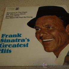 Discos de vinilo: FRANK SINATRA ?– FRANK SINATRA'S GREATEST HITS, GERMANY EP REPRISE. Lote 16714473