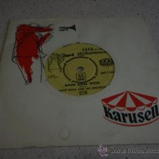 Discos de vinilo: COUNT BASIE & HIS ORCHESTRA (BASIE GOES WESS - SOFTLY,WITH FEELING) SWEDEN SINGLE45 KARUSELL. Lote 16715439