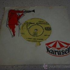 Discos de vinilo: THE ROY ELDRIGE QUINTET (I CAN'T GET STARTED - WHEN YOUR LOVER HAS GONE) SWEDEN SINGLE45 KARUSELL. Lote 16715484