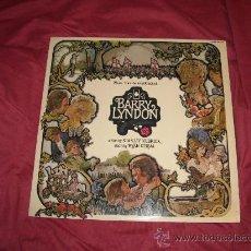 Discos de vinilo: BARRY LYNDON LP BANDA SONORA ORIGINAL CON HOJA DE PRENSA 1976 Y PUBLICIDAD HISPAVOX ROSENMAN KUBRICK. Lote 20220127