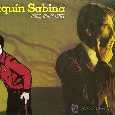 Discos de vinilo: JOAQUIN SABINA LP SELLO ARIOLA AÑO 1987 HOTEL, DULCE HOTEL.. Lote 16722644