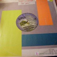 Discos de vinilo: TAD HUNTER & PRENTO YOUTH ( GOD A WHO ) 12 INCH MAXI - SINGLE (VIN). Lote 16738745