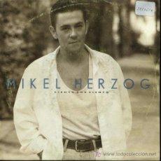 Discos de vinilo: MIKEL HERZOG - CIENTO POR CIENTO - SINGLE 1993 - PROMO. Lote 16797697
