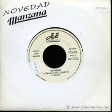 Discos de vinilo: MORENO - PREDICAR EN EL DESIERTO / MUCHACHA ROTA - SINGLE 1989 - PROMO. Lote 16800617