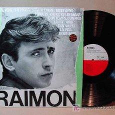 Discos de vinilo: LONG PLAY, LP, VINILO, RAIMON, EDIGSA, C M 62, DISC ANTOLOGIC DE LES SEVES CANÇONS, 1964, AL VENT. Lote 16788816