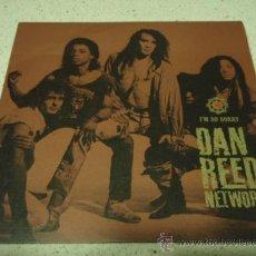 Discos de vinilo: DAN REED NETWORK ( I'M SO SORRY - BURNING LOVE ) 1989 SINGLE45 MERCURY RECORDS. Lote 16783185