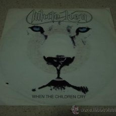 Discos de vinilo: WHITE LION ( WHEN THE CHILDREN CRY - LADY OF THE VALLEY ) USA 1987-GERMANY SINGLE45 ATLANTIC. Lote 16783278