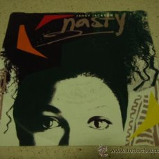 Discos de vinilo: JANET JACKSON ( NASTY - YOU'LL NEVER FIND ) 1986 - GERMANY SINGLE45 A&M RECORDS. Lote 16783288