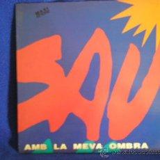Discos de vinilo: UXV SAU MAXI SINGLE VINILO PROMOCIONAL 1993 AMB LA MEVA OMBRA ROCK CATALAN PEP SALA NUEVO RARO. Lote 23106018