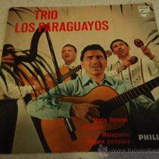 Discos de vinilo: TRIO LOS PARAGUAYOS (MARIA DOLORES - SERENATA - MALAGUEÑA - PAJARO CAMPANA) HOLANDA EP45 PHILIPS. Lote 16795488