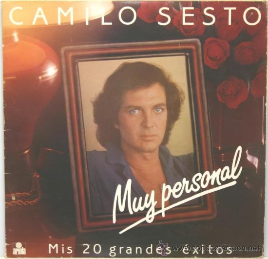 CAMILO SESTO MUY PERSONAL DOBLE LP CARPETA ABIERTA ARIOLA 1982 (Música - Discos - LP Vinilo - Solistas Españoles de los 70 a la actualidad)