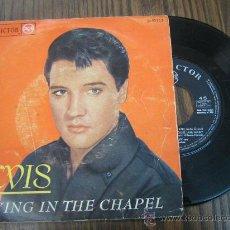 Discos de vinilo: ELVIS CRYING IN THE CHAPEL 1965 ESPAÑOL. Lote 16802795