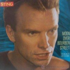 Discos de vinilo: STING - MOON OVER BOURBON STREET (EDICIÓN FRANCESA). Lote 20637833