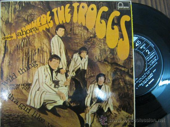 THE TROGGS 1966 SINGLE (Música - Discos - Singles Vinilo - Pop - Rock Extranjero de los 50 y 60)