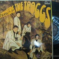 Discos de vinilo: THE TROGGS 1966 SINGLE . Lote 16824313