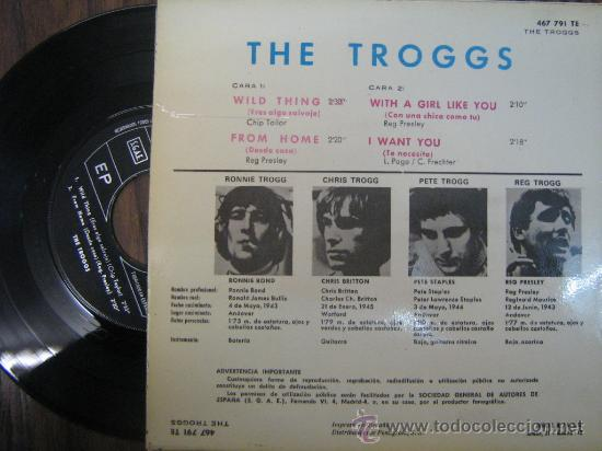 Discos de vinilo: the troggs 1966 single - Foto 2 - 16824313