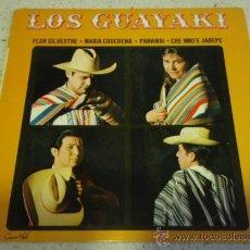 Discos de vinilo: LOS GUAYAKI (FLOR SILVESTRE - MARIA CHUCHENA - PANAMBI - CHE MBO'E JARAPE) EP45 CONCERT HALL. Lote 16835830