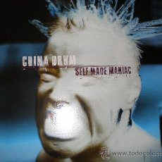 Discos de vinilo: CHINA DRUM-SELF MADE MANIAC-LP-UK 1997.CON FUNDA INTERIOR.. Lote 27169939