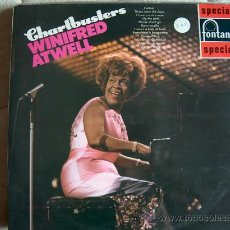 Discos de vinilo: LP - WINIFRED ATWELL - CHARTBUSTERS - EDICION INGLESA, FONTANA 1969. Lote 16849277
