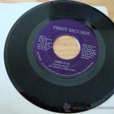 Discos de vinilo: SLY ROKER & THE JUICE - SINGLE : HERE IT IS/ LET'S DANCE - FINEST RECORDS, 1979. Lote 16852169