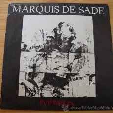 Discos de vinilo: MARQUIS DE SADE - SINGLE : RYTHMIQUES / WHITE LIGHT-WHITE HEAT - ROCK FRANCIA - MADE IN FRANCE,1980. Lote 16855470