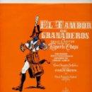 Discos de vinilo: 10 PULGADAS - EL TAMBOR DE GRANADEROS (ALHAMBRA MC 25013) VER FOTO. Lote 25138518