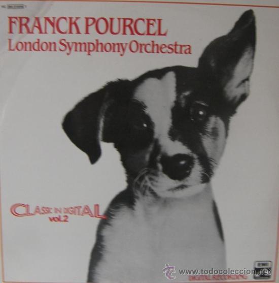 FRANK POURCEL Y LA LONDON SYMPHONY ORCHESTRA - 1981 (Música - Discos - LP Vinilo - Otros Festivales de la Canción)