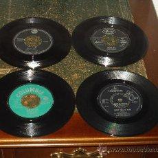Discos de vinilo: LOTE 4 SINGLES CILLA BLACK/BRUCE CHANEL/MR. ACKER BILK/. Lote 22746653