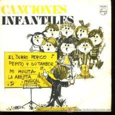 Discos de vinilo: CORO DE LAS ESCUELAS AVEMARIANAS - EL BURRRO PERICO / LA ABEJITA MUSICAL / MI MULITA - EP 1969 PROMO. Lote 16906745