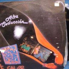 Discos de vinilo: - ALTA SEDUCCIÓN - NOCHE DE CALOR - HOJA CON HISTORIA DEL GRUPO - HILARGI RECORDS 1990. Lote 20722672