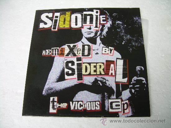 10 PULGADAS SIDONIE REMIXED BY DJ SIDERAL VINILO (Música - Discos de Vinilo - EPs - Pop - Rock Internacional de los 90 a la actualidad)