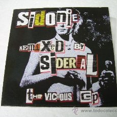 Disques de vinyle: 10 PULGADAS SIDONIE REMIXED BY DJ SIDERAL VINILO. Lote 224028463