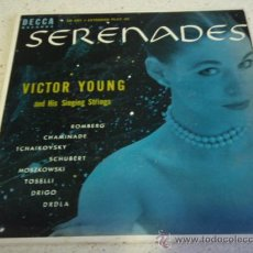 Discos de vinilo: VICTOR YOUNG & HIS SINGING STRINGS ( ROMBERG - CHAMINADE - TCHAIKOVSKY - SCHUBERT - MOSZKOWSKI - . Lote 16906509
