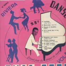Discos de vinilo: 10 PULGADAS - EMIL STERN / DANSE VOL 8 (RIVIERA 6560) TEMAS EN PORTADA. Lote 23615803