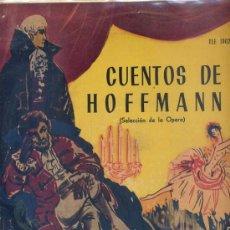 Discos de vinilo: 1O PULGADAS - CUENTOS DE HOFFMANN (TELEFUNKEN TLE 19026) VER FOTO. Lote 16909378