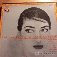 Discos de vinilo: CALLAS / LUCIA DE LAMMERMOOR ) BOX 2 LP ( NM / NM ). Lote 16911328