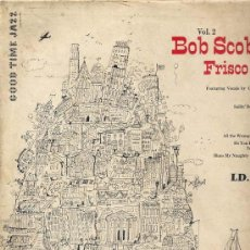 Discos de vinilo: 10 PULGADAS - BOB SCOBEY'S FRISCO BAND (VOGUE LD 207). Lote 16920918