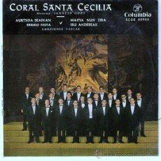 Discos de vinilo: CORAL SANTA CECILIA - AÑO 1965 DIRECTOR IGNACIO GOÑI. Lote 24452509