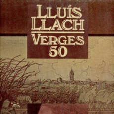 Discos de vinilo: LLUIS LLACH -- VERGES 50 -- LP DOBLE PORTADA . Lote 27426790