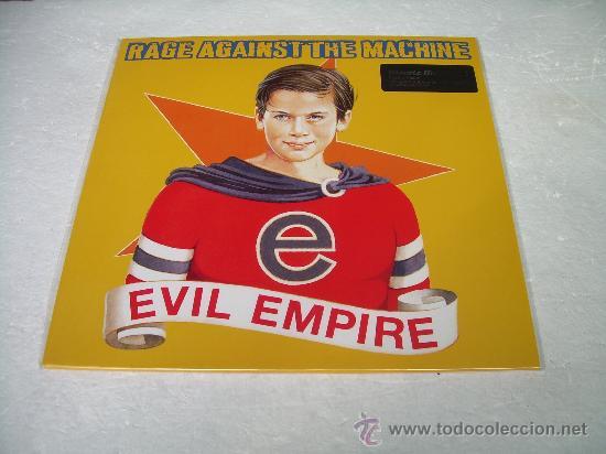 LP RAGE AGAINST THE MACHINE EVIL EMPIRE 180G VINILO (Música - Discos - LP Vinilo - Pop - Rock Extranjero de los 90 a la actualidad)