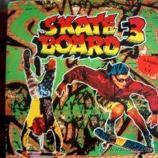 Discos de vinilo: LP - SKATE BOARD 3 - VARIOS - DOBLE DISCO, ORIGINAL ESPAÑOL, BLANCO Y NEGRO MUSIC 1991. Lote 19359302
