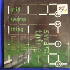 Discos de vinilo: UXV THE GRID MAXI SINGLE VINILO 1994 SWAMP THING MUSICA TECHNO HOUSE INGLATERRA. Lote 26808031