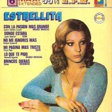 Discos de vinilo: ESTRELLITA EP MAXI SELLO RAFF EDITADO EN MEXICO. Lote 16964365