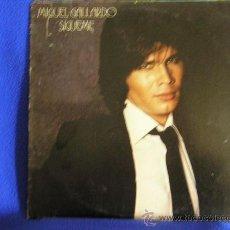Discos de vinilo: UXV MIGUEL GALLARDO LP VINILO 1980 SIGUEME BALADA POP CANTAUTOR. Lote 22183543