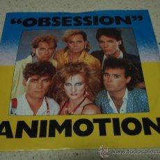 Dischi in vinile: ANIMOTION ( OBSESSION - TURN AROUND ) USA 1984-HOLANDA SINGLE45 MERCURY. Lote 16992495