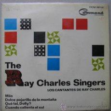 Discos de vinilo: THE RAY CHARLES SINGERS - MAS - EP ESPAÑOL 1964. Lote 16996482
