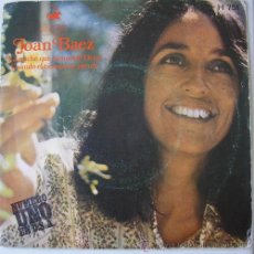 Discos de vinilo: JOAN BAEZ - LA NOCHE QUE TOMARON DIXIE - SINGLE 1971. Lote 16999763