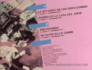 Discos de vinilo: ALASKA Y DINARAMA MAXI-SINGLE SELLO HISPAVOX AÑO 1989 - Foto 2 - 17012449